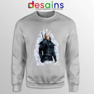 Witcher Geralt of Rivia Sport Grey Sweatshirt The Witcher Netflix Sweaters