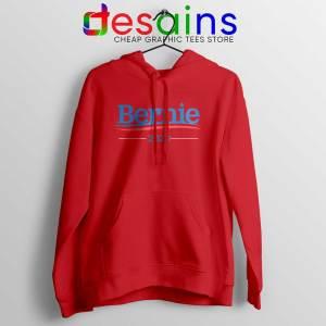 Bernie Sanders 2020 Campaign Red Hoodie Democratic Presidential Jacket