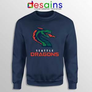 Cheap Dragons Seattle Navy Sweatshirt American Football Team