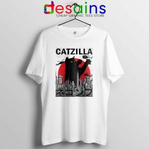 Funny Catzilla Godzilla Tshirt King of the Monsters Cats Tee Shirts S-3XL