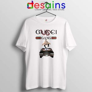 Gucci Gang Funny Supernatural White Tshirt Gucci TV Series Tees