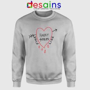 Harry Styles Alessandro Michele Fine Line Sport Grey Sweatshirt