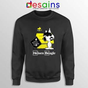 Heisenberg Snoopy Beagle Black Sweatshirt Breaking Bad Snoopy Sweaters