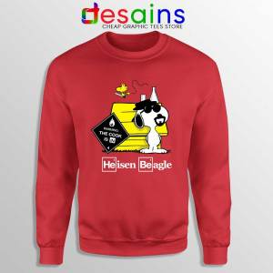 Heisenberg Snoopy Beagle Sweatshirt Breaking Bad Snoopy Sweaters