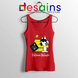 Heisenberg Snoopy Beagle Tank Top Breaking Bad Snoopy Tops S-3XL