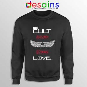 Love Album by The Cult Sweatshirt British Rock Band Sweaters S-3XL