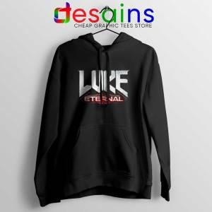Luke Eternal Black Hoodies For God so loved the World Jacket