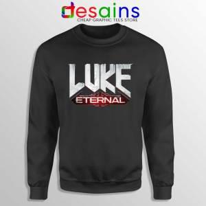 Luke Eternal Black Sweatshirt For God so loved the World Sweaters