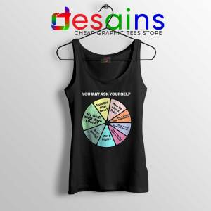 Once in a Lifetime Lyrics Tank Top Talking Heads Band Tops Size S-3XL