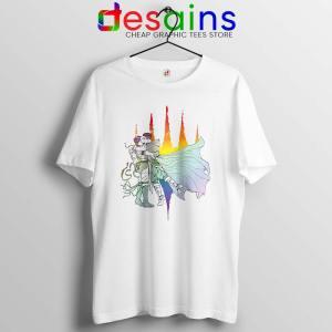 Rainbow Kiss Tshirt The Gathering Storm LGBT Tee Shirts S-3XL