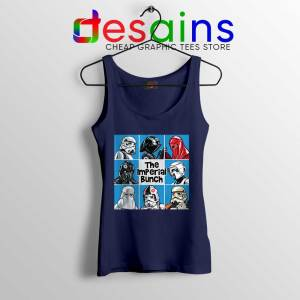 Stormtrooper Mash Up Navy Tank Top The Imperial Bunch Tops