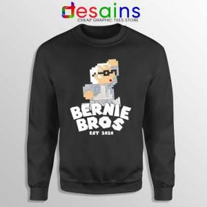 Super Bernie Bros Sweatshirt Funny Super Mario Bros Sweaters S-3XL