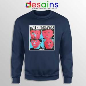 Talking Heads Band Navy Sweatshirt Psycho Killer Sweaters