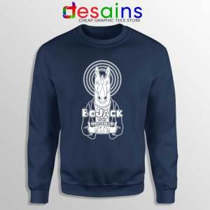My Horseman Navy Sweatshirt Funny BoJack Horseman Sweaters