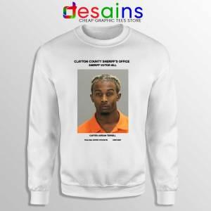 Playboi Carti Mugshot Sweatshirt American Rapper Sweaters S-3XL