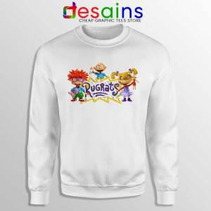 Rugrats Distressed Sweatshirt Rugrats Distressed Sweaters S-3XL
