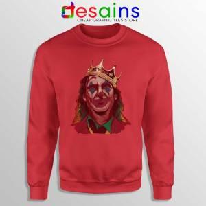 The Notorious BIG Joker Red Sweatshirt Arthur Fleck Poster Sweaters