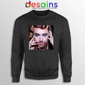 To Die For Sam Smith Black Sweatshirt Upcoming Album Sweaters