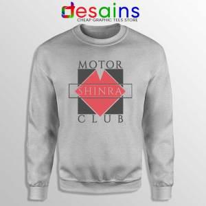 Shinra Motor Club Sport Grey Sweatshirt Final Fantasy VII Sweaters