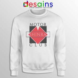 Shinra Motor Club Sweatshirt Final Fantasy VII Sweaters S-3XL