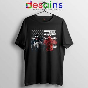 Venom And Spider Man Tshirt Were Sorry Ms Parker Tee Shirts S-3XL
