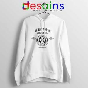 Xavier Institute X Mansion White Hoodie X-Men Merch Jacket