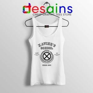 Xavier Institute X Mansion White Tank Top X-Men Merch Tops