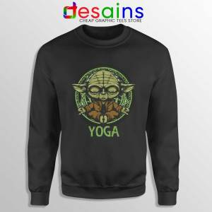 Yoga Master Yoda Sweatshirt Star Wars Clothing Sweaters S-3XL