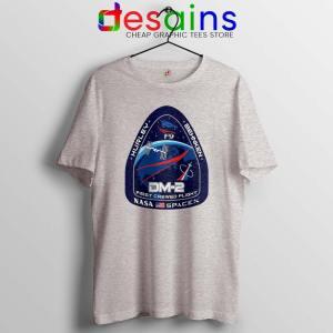 Crew Dragon Demo Fight Tshirt SpaceX Dragon 2 Tee Shirts S-3XL