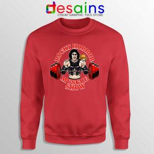Rocky Horror Picture Show Red Sweatshirt Muscle Show Sweaters