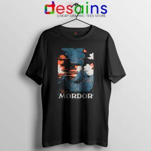 Visit Mordor Middle Earth Tshirt Arch Villain Sauron Tee Shirts S-3XL