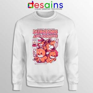 Dungeons Doggies Sweatshirt Dungeons & Dragons Cheap Sweaters