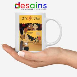 Love and Baskbetball Mug Sports Romantic Film Coffee Mugs
