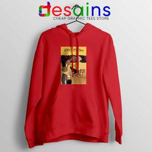 Love and Baskbetball Red Hoodie Sports Romantic Film