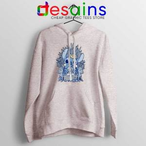Stitch In Side Thrones Sport Grey Hoodie Game of Thrones Funny Jacket