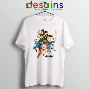 The Gaang Avatar Tshirt The Last Airbender Tee Shirts S-3XL