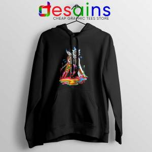 Trippy Rick and Morty Hoodie Cheap Adult Swim Jacket S-2XL