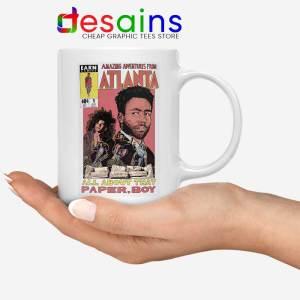 Donald Glover Amazing Adventures White Mug Childish Gambino Coffee Mugs