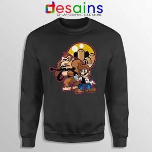 Mario Han Solo Sweatshirt Star Wars Super Mario Sweaters