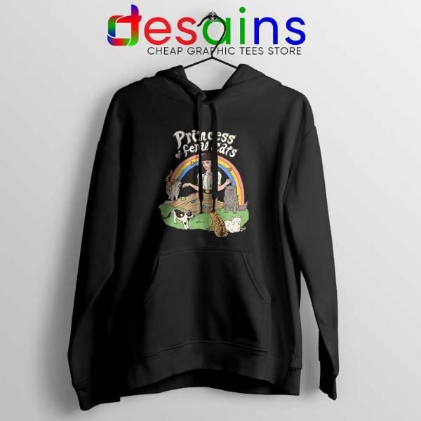 Princess Of Feral Cats Black Hoodie Disney Princess Jacket Hoodies