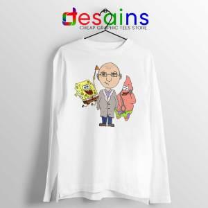 Doctor Spongebob Patrick Long Sleeve Tee Funny Cartoon T-shirts