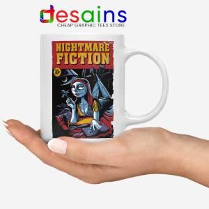 Pulp Fiction Girl White Mug Nightmare Before Christmas Coffee Mugs