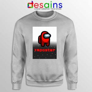 Among Us Imposter Sport Grey Sweatshirt Being the Imposter Game