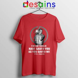 Chester Bennington Quote Red Tshirt I Wish I Could Have Saved You Tees
