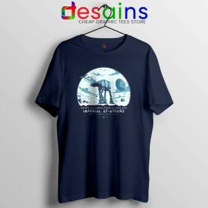 Galactic Empire Tour Navy Tshirt Star Wars Empire Tee Shirts