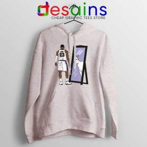 LeBron James Mirror GOAT Sport Grey Hoodie Los Angeles Lakers Jacket
