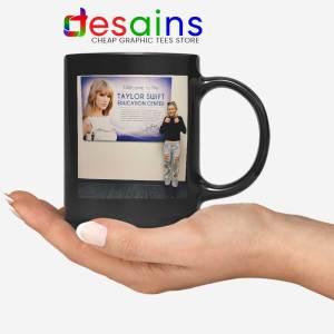 Phoebe and Taylor Swift Black Mug Education Center Coffee Mugs