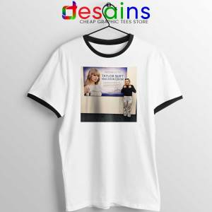 Phoebe and Taylor Swift Ringer Tee Education Center T-shirts