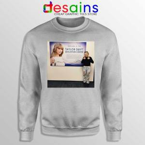 Phoebe and Taylor Swift Sport Grey Sweatshirt Education Center Sweaters