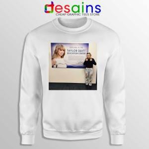 Phoebe and Taylor Swift Sweatshirt Education Center Sweaters